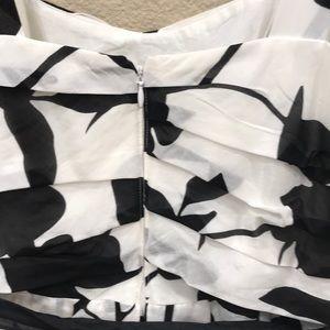 White House Black Market Dresses - WHBM cotton/silk summer party dress!  Sz 6